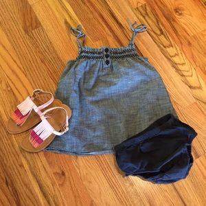 Baby Gap Denim/Chambray Dress - Size 18-24 Months